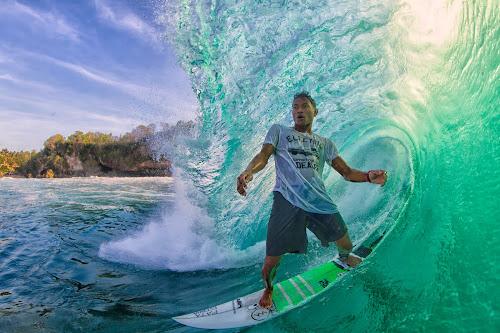 Mega Semadhi  by Trevor Murphy - Sports & Fitness Surfing ( water, wave, canon eos 7d  ef8-15mm f/4l fisheye usm, surf, man )