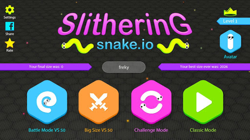 Download Slithering Snake.io MOD APK 1
