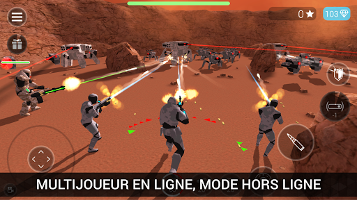 CyberSphere: TPS Online Action-Shooting Game  captures d'écran 1