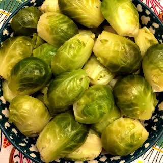 Instant Pot Brussels Sprouts.
