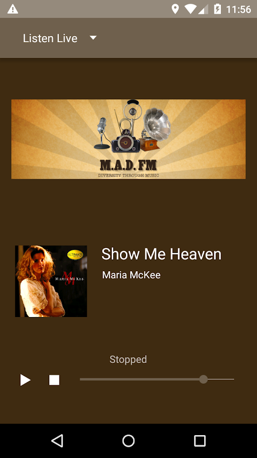 MAD FM Worldwide for Android- screenshot