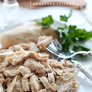 Slow Cooker Shredded Chicken