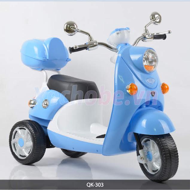 xe máy điện mini cho bé QK-303