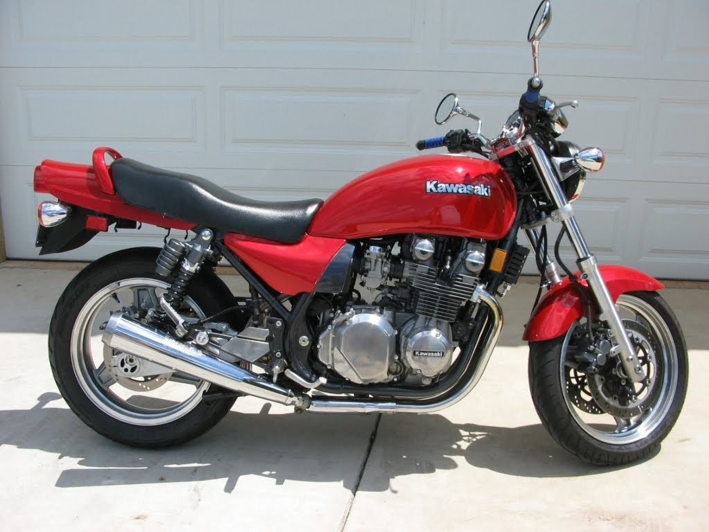 Kawasaki ZR 750 Zephyr-manual-taller-despiece-mecanica