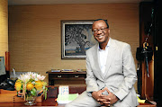 Vice-chancellor of the University of Pretoria Tawana Kupe in his office at the university.