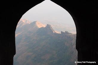 Photo: Suvela Machi from Rajgad Maha darvaja on Balle Killa