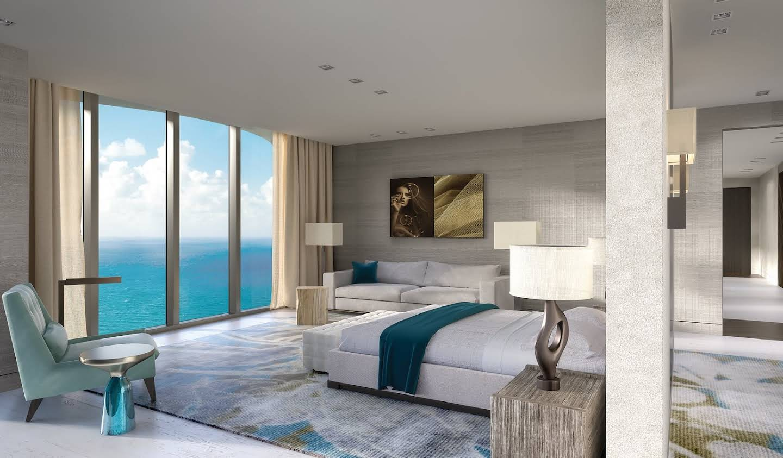 Appartement avec terrasse et piscine Miami Beach