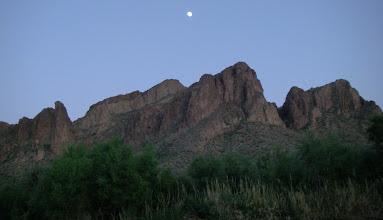 Photo: Moon over the Salt.