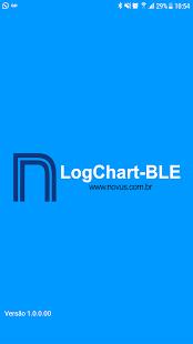 LogChart-BLE - náhled