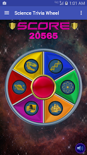 Science Trivia Wheel- screenshot thumbnail