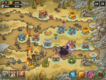 Empire Warriors Premium: Tower Defense Games 7