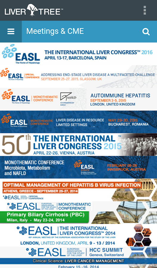 EASL LiverTree™- screenshot