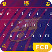 Barcelona Defend This Keyboard Theme