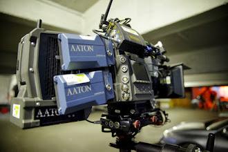 Photo: Les batteries ont une bonne tenue, avec la possibilité de les changer sans couper la camera !