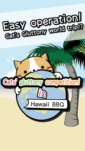 Cat's gluttony competition