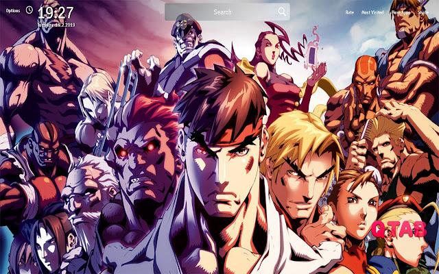 X Men Vs Street Fighter Wallpapers New Tab