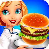 Food Street Kitchen - Cooking Game