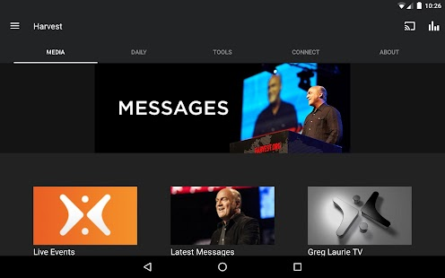 Harvest: Greg Laurie- screenshot thumbnail