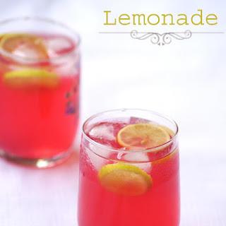 Rooh Afza Lemon Sharbat Recipe - Indian Rose Lemonade Recipe - Summer Drinks.