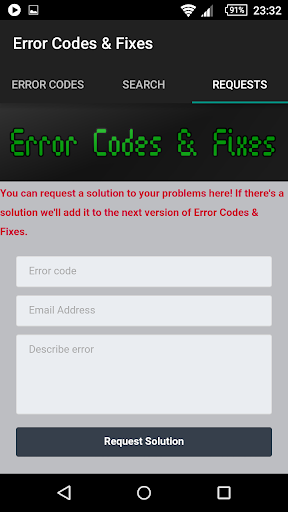 Error Codes & Fixes 1.4 screenshots 5