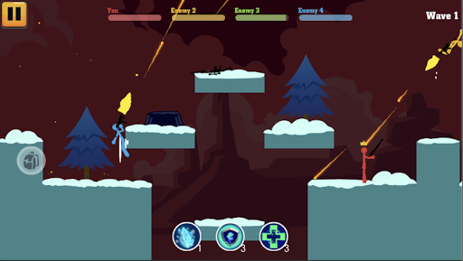 Stick Fight Hero android2mod screenshots 3