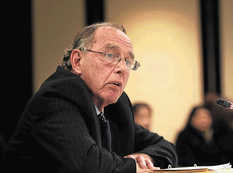 Retired judge Robert Nugent. Picture: SIMPHIWE NKWALI