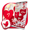 Love Heart Red Theme icon