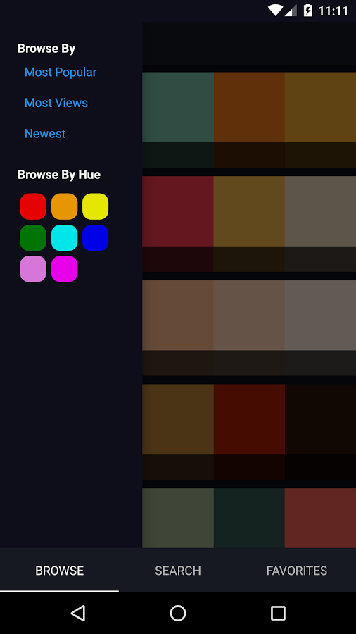 Color Pal- screenshot