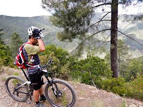 Photo: Rubén preparándose