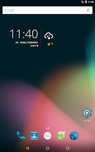 Simple weather & clock widget (no ads) APK image thumbnail 17
