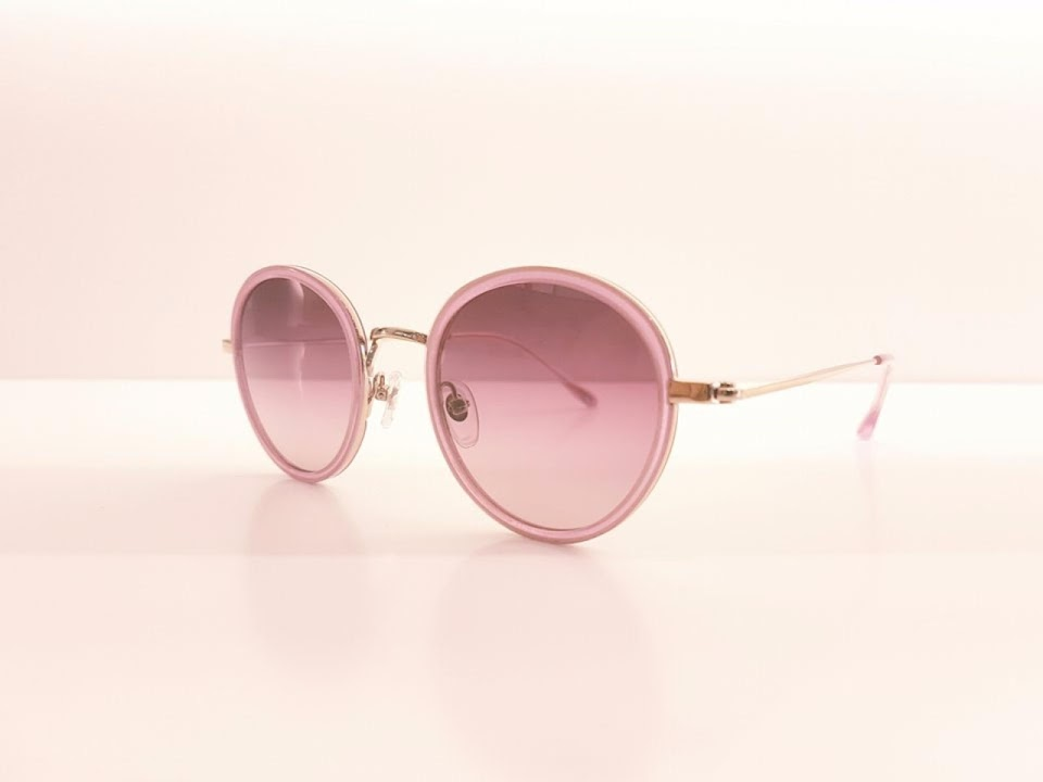 lunettes rondes roses opticien
