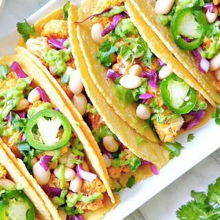 Roasted Cauliflower Tacos [Vegan]