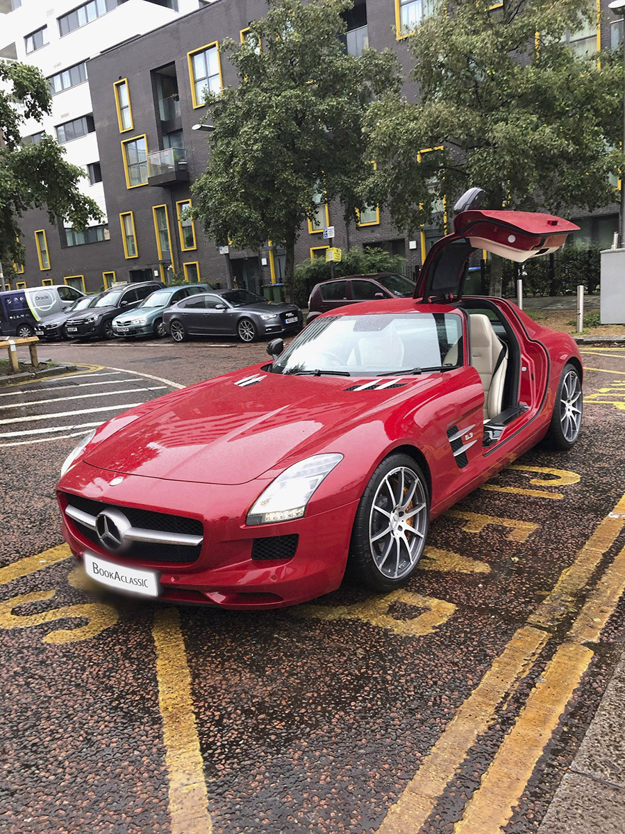 Mercedes SLS AMG Hire London