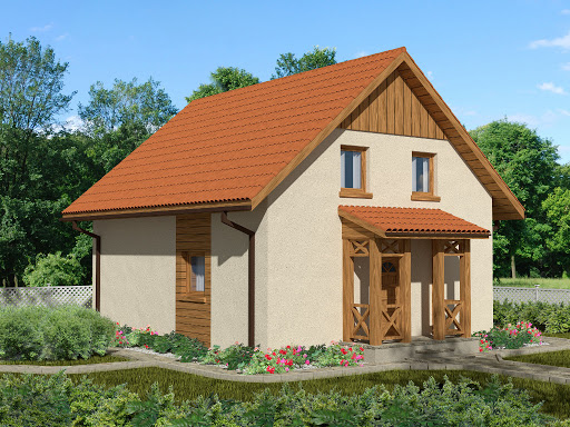 projekt Domek Norweski