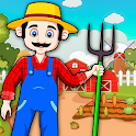 Pretend My Farm Village Life : Village Town Play icon