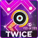 TWICE Dancing Line: KPOP Music Dance Line Tiles icon