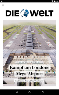 WELT Edition Digitale Zeitung- screenshot thumbnail
