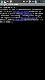Paragon exFAT, NTFS & HFS+ Screenshot 2