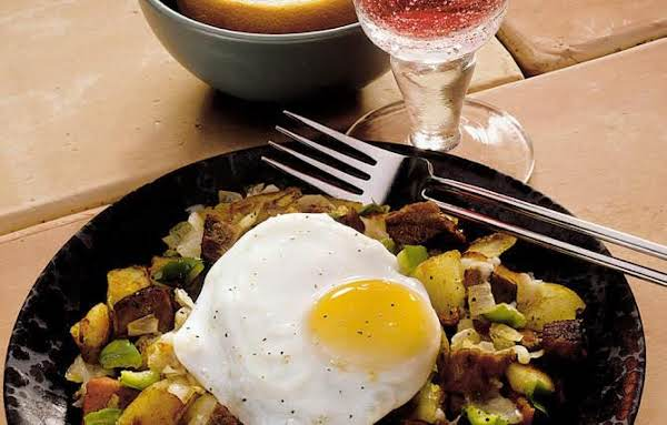Steak And Eggs Hash, My Version Recipe