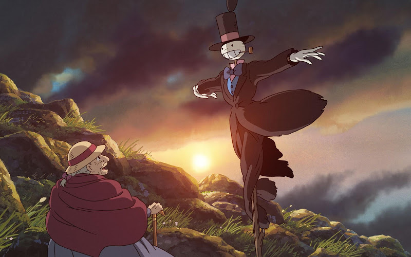 Howls Moving Castle Wallpapers Android App Screenshot