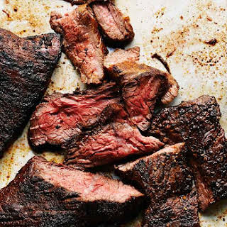 Grilled Steak Recipe with Coffee Spice Rub.