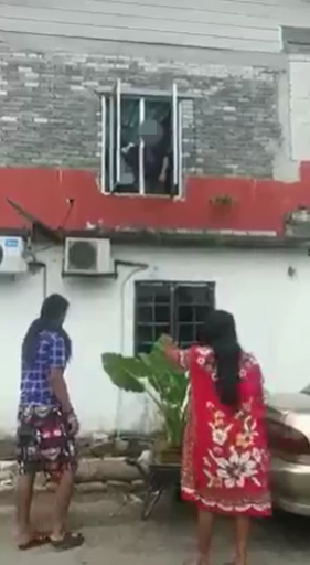 Video Of Neighbours Fighting Over Parking Space And Potted Plants Goes Viral