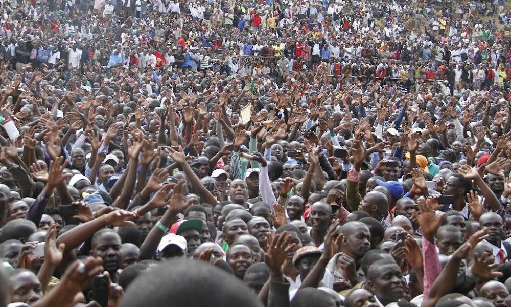 Kikuyu, Luhya and Kalenjin make up almost half of Kenyan population