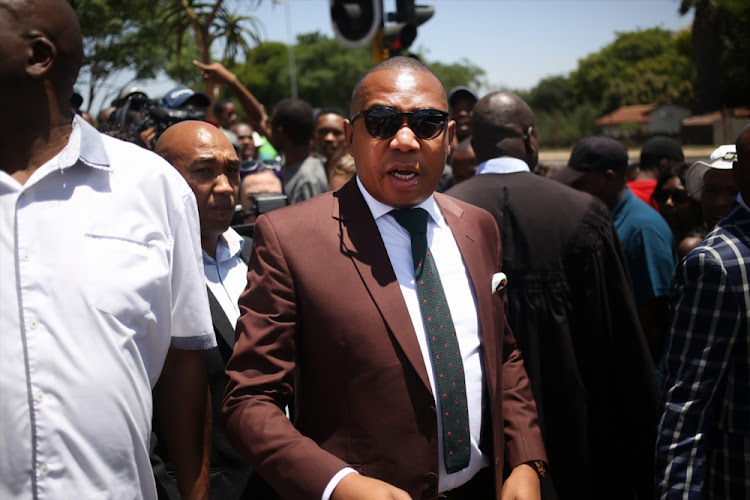 Mduduzi Manana said it was irresponsible for him to have posted a picture without the required context 'creating the impression that it was a social lunch'. File photo.