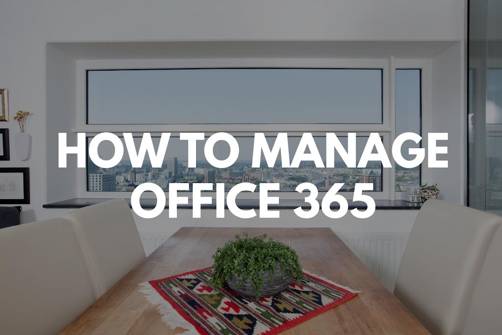 Manage O365