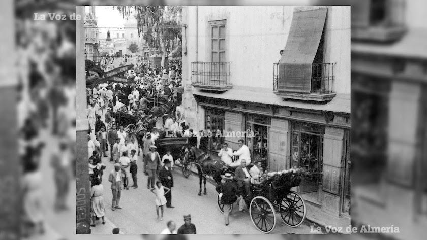 El 22 de julio de 1933, seis años después de su muerte, los republicanos de Almería le rindieron homanje a Manuel Pérez García.