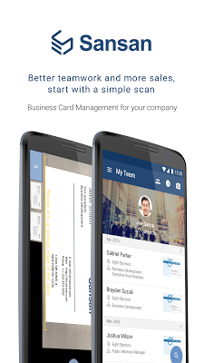 Sansan - Biz Card Management - screenshot