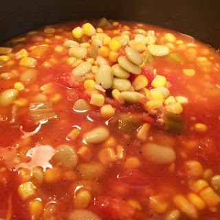Five Can Vegetable Soup.