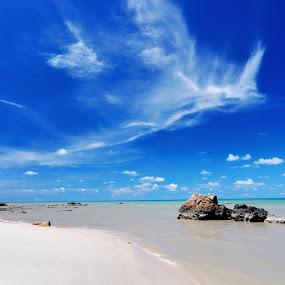 Pantai Lalang  teroooos   pukok e   by ANdi Khoebill - Landscapes Travel