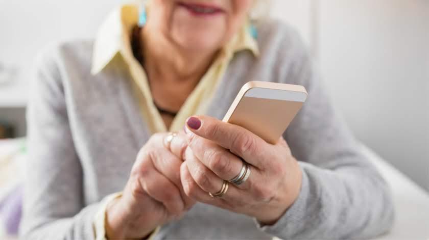 Videochamadas aproximam idosos da Misericórdia de Lamego das famílias